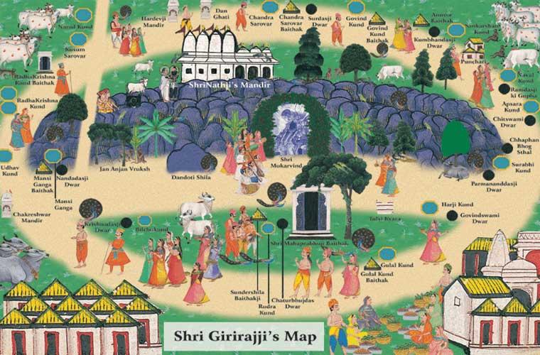 shri-goverdhan-parikrama-map