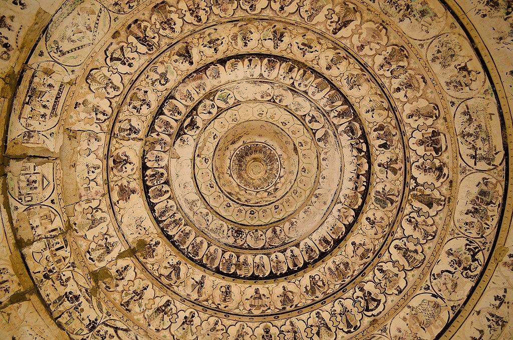 Gori_temple,_ceiling