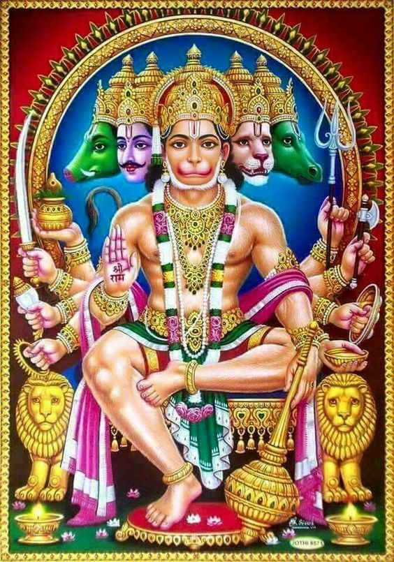 Panchmukhi-Hanuman-HD-Pictures